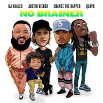 DJ Khaled, Justin Bieber, Chance the Rapper, Quavo - No Brainer