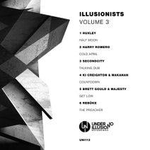 Huxley, Harry Romero, Secondcity, Ki Creighton, Makanan, Majesty, Brett Gould, Rebuke - Illusionists, Volume 3
