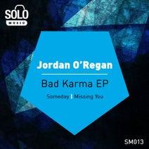 Jordan O'Regan - Bad Karma EP