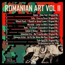 Asenn, Cally, Glitech Pavel, Microlab, Raltz, Balaur, Sakdat, Sebastian Eric, Unknown Artist, Yuda, VA Romanian Art Vol 2, Romanian Art - VA Romanian ART VOL 2