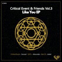 Surreal, Critical Event, Alexvnder, Askel, Satl, Bert H - Critical Event & Friends Vol.3 - Like You EP