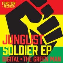 The Green Man, Digital, DJ Freeze, Ras Abraham, Sabrination - Junglist Soldier