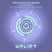 Steve Allen, Cathy Burton, F.G. Noise, Mart Sine - My Awakening (The Remixes)