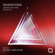 Ken Ishii, Drunken Kong, Mario Ochoa - Where We Start (Remixes 2/3)