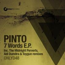 Pinto, Toygun, Adi Dumitra, The Midnight Perverts - 7 Words EP