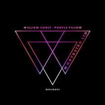 William Curly - Purple Pillow