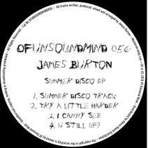 James Burton - Summer Disco EP