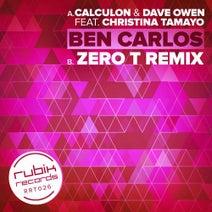 Calculon, Dave Owen, Christina Tamayo, Zero T - Ben Carlos - Zero T Remix - Original