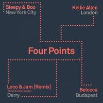 Sharam, Chance Caspian, Belocca, Kellie Allen, Sleepy & Boo, Loco & Jam - Four Points