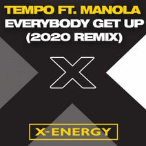 Tempo, Max Persona - Everybody Get Up (feat. Manola) [Max Persona 2020 Remix]