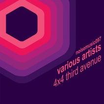 Anderson Noise, Kleber, Gustavo Stefanello, Hidden & Deaden, Gianni Ruocco, Carmona - 4x4 Third Avenue