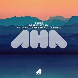 CRZBZ - Desert Storm ( Antoine Clamaran Kolor Remix )