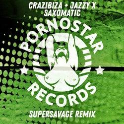 Crazibiza , Jazzy X - Saxomatic ( Supersavage Remix )