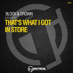 That's What I Got In Store feat. Scorccio
