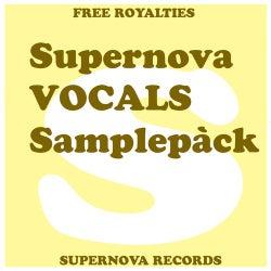 Supernova VOCALS Samplepàck