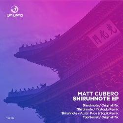 Matt Cubero - Shiruhnote EP