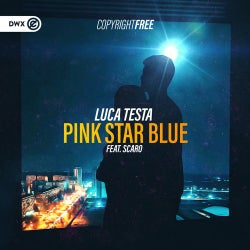 Pink Star Blue