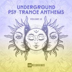 Underground Psy-Trance Anthems, Vol. 15