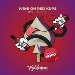 Wine on Red Kups
