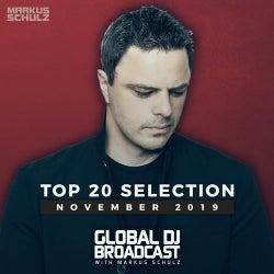 Global DJ Broadcast - Top 20 November 2019
