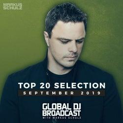 Global DJ Broadcast - Top 20 September 2019