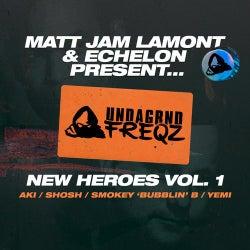 New Heroes, Vol. 1