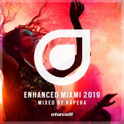 Enhanced Miami 2019, Mixed by Kapera