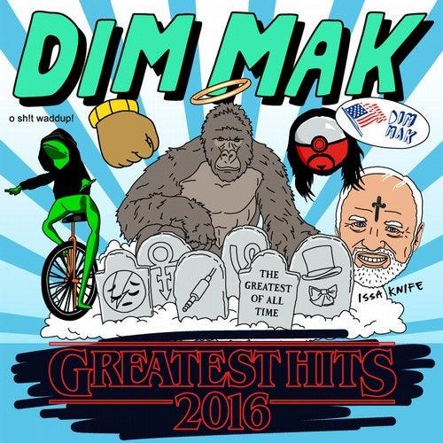 VA - Dim Mak Greatest Hits 2016 Originals 2017 [LP]