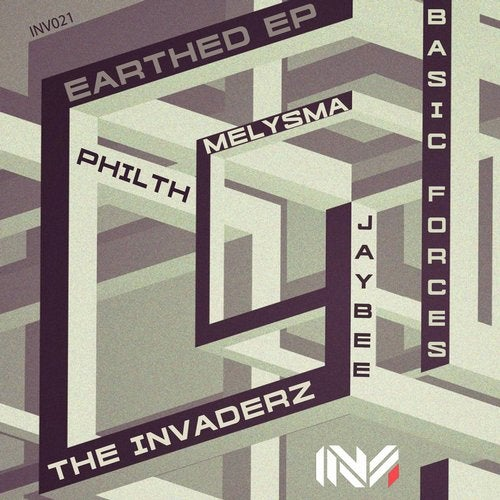 The Invaderz — Earthed [EP] 2018