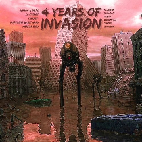VA - 4 YEARS OF INVASION