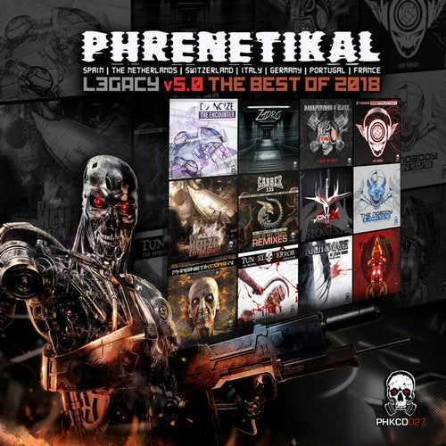 VA - PHRENETIKAL LEGACY V5.0 THE BEST OF 2018 (LP) 2019