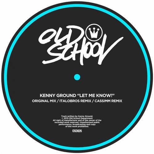Let Me Know! from Old School Department on Beatport
