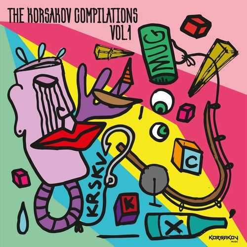 VA — THE KORSAKOV COMPILATIONS VOL. 1 [LP] 2018