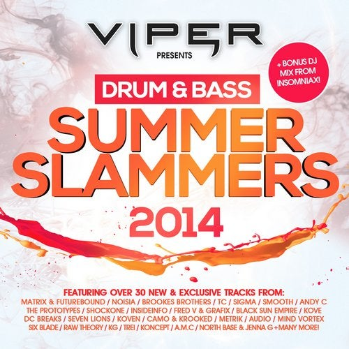 VA - DRUM & BASS SUMMER SLAMMERS 2014 [LP]