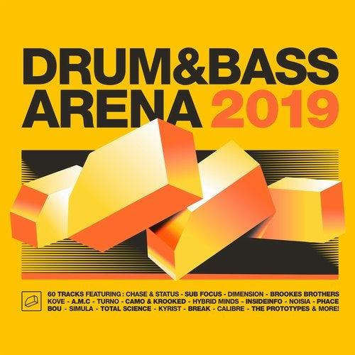 VA - DRUM&BASSARENA 2019 [4CD x LP]