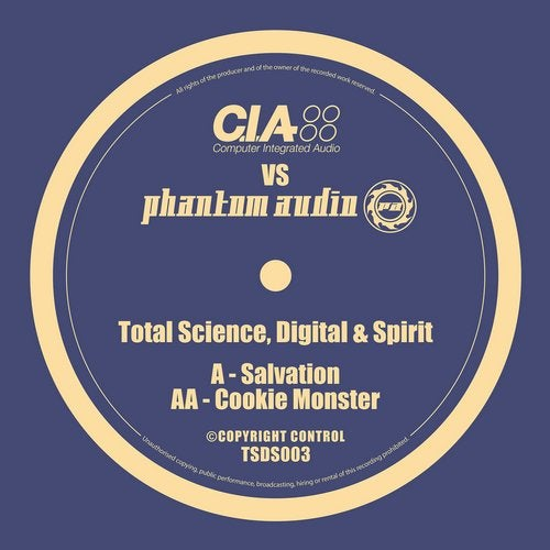 Total Science, Digital, Spirit - C.I.A. vs Phantom Audio (EP) 2019