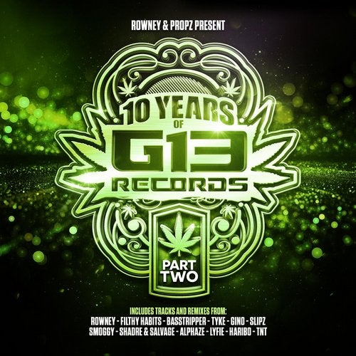 VA - 10 YEARS OF G13 RECORDS PART 2 2019 (LP)