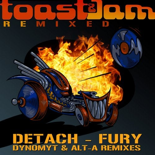 Detach — Fury Remixed 2018 [EP]