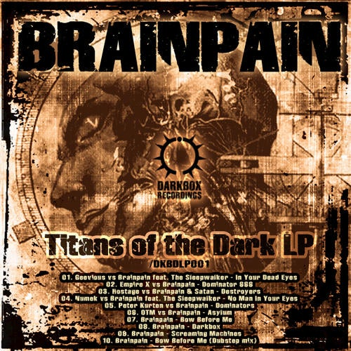 Brainpain - Titans Of The Dark 2010 [LP]
