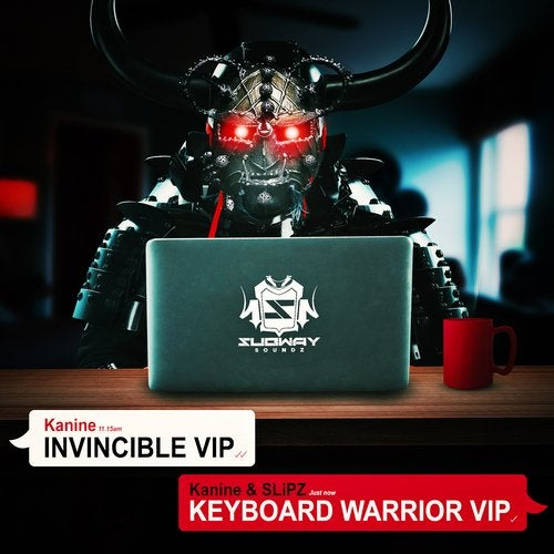 Kanine — Invincible VIP / Keyboard Warrior VIP [EP] 2018