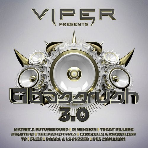 VA — BASSRUSH 3.0 (VIPER PRESENTS) (LP) 2018
