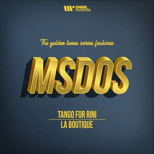 mSdoS — Tango For Rini (Golden Tone Series) (EP) 2018