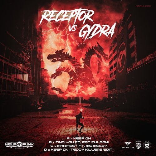 Receptor & Gydra - Keep On 2019 [EP]