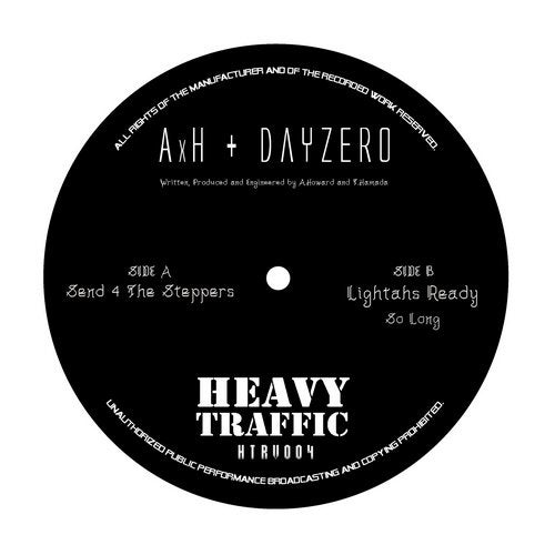 AxH / Dayzero - Send 4 The Steppers 2019 (EP)