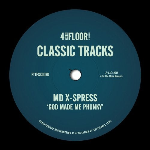 God Made Me Phunky (X-Press 2 Pitch Invasion Remix) by MD X-Spress