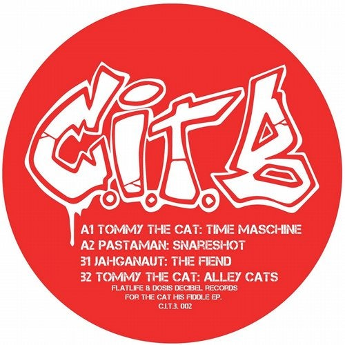 Tommy The Cat, Pastaman, Jahganaut - For The Cat His Fiddle 2019 (EP)