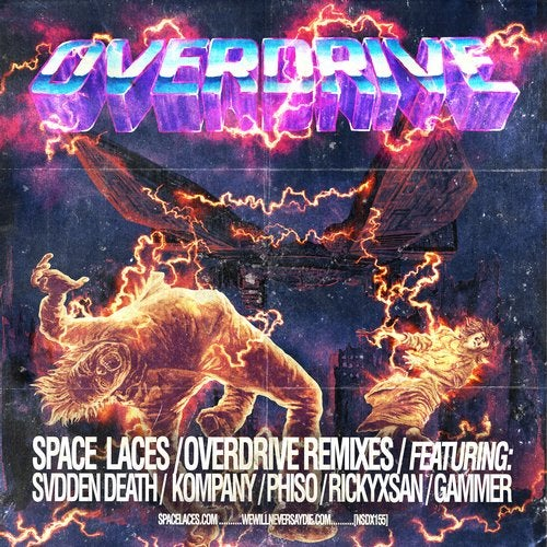 Space Laces - Overdrive Remixes 2019 [EP]