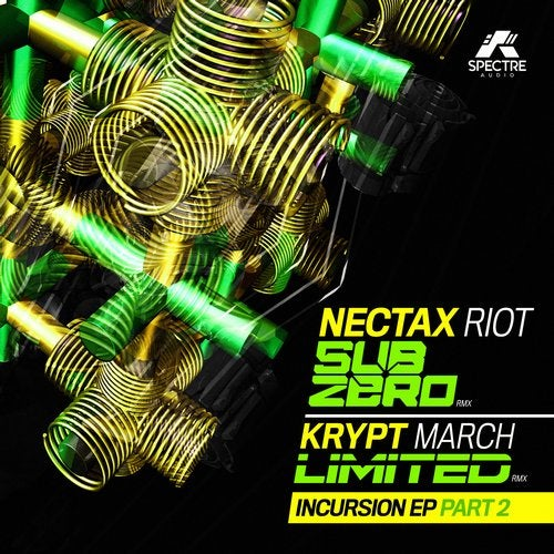 Nectax & Krypt — The Incursion Part 2 (EP) 2018