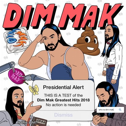 VA - Dim Mak Greatest Hits 2018 Originals 2019 [LP]