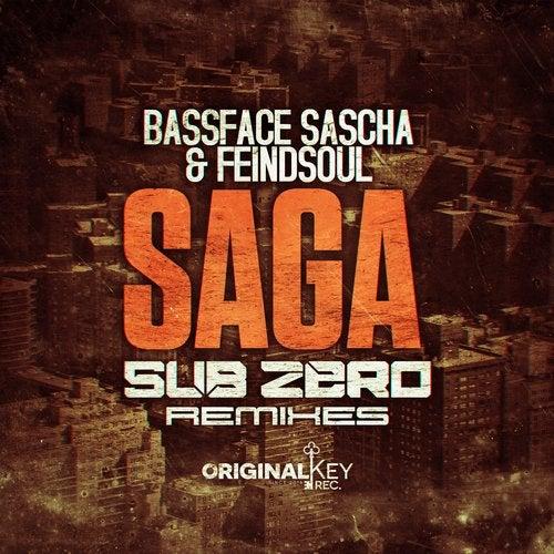 Bassface Sascha, Feindsoul - Saga (Sub Zero Remixes) (EP) 2018